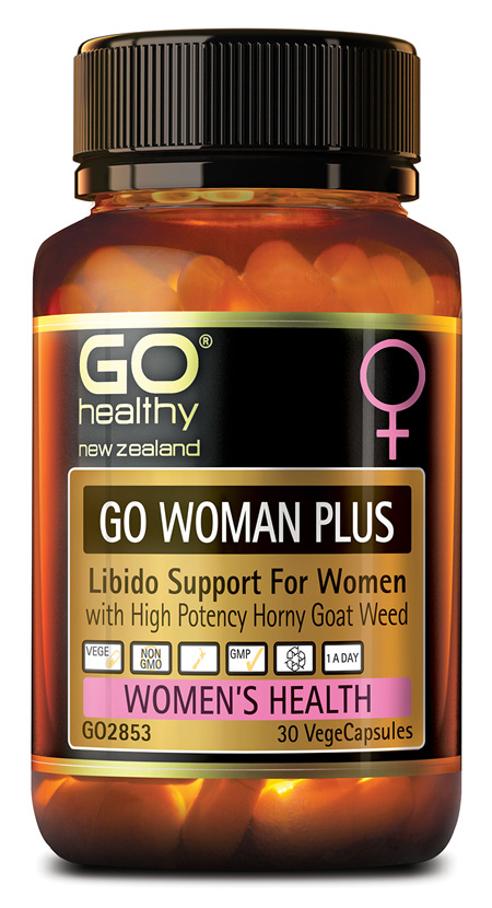 GO WOMAN PLUS - LIBIDO SUPPORT FOR WOMEN (30 VCAPS)