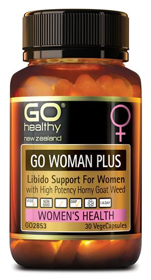 GO WOMAN PLUS - LIBIDO SUPPORT FOR WOMEN (30 VCAPS)