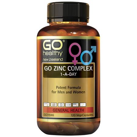 GO Zinc Complex 1-A-Day 120vcaps