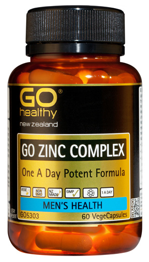 GO ZINC COMPLEX - 1-A-DAY (60 Vcaps)