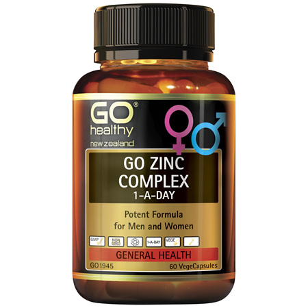 GO Zinc Complex 1-A-Day 60vcaps