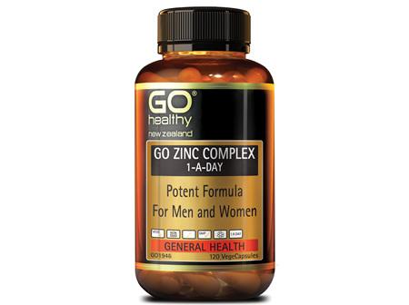 GO ZINC COMPLEX 1-A-DAY - Potent Formula (120 Vcaps)