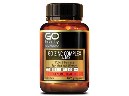 GO ZINC COMPLEX 1-A-DAY - Potent Formula (60 Vcaps)