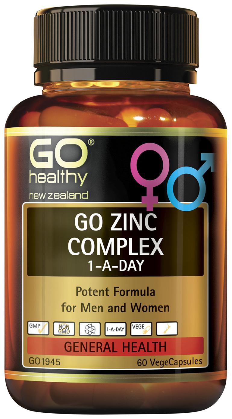 GO Zinc Complex 60 VCaps