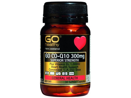 GOHEALTHY COQ10 300MG 30