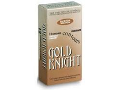 GOLD KNIGHT 53MM CONDOMS CHOC