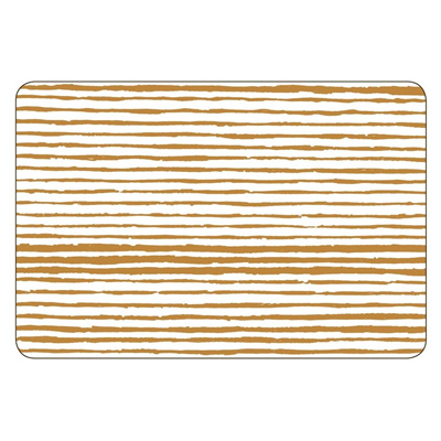 Gold Linear Placemat - Rectangle