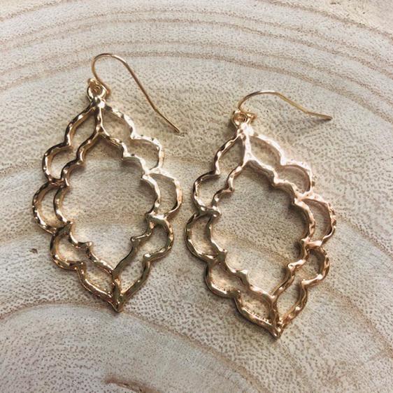 Gold Marakesh Earrings