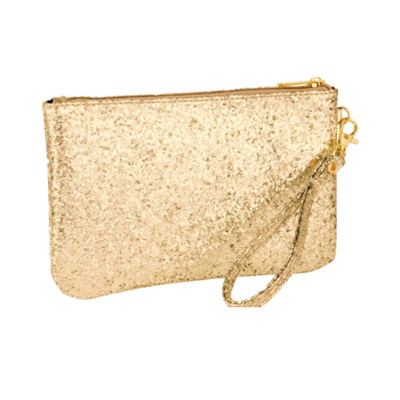 Gold Sequin Charging Purse