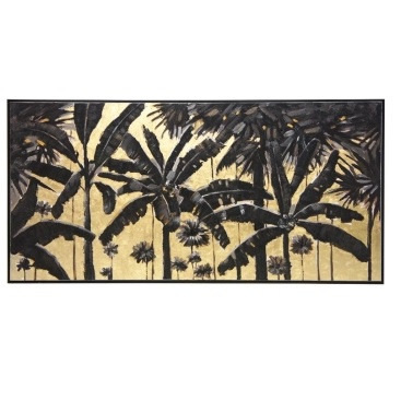 Golden Palms Oil Painting - 70x140cm