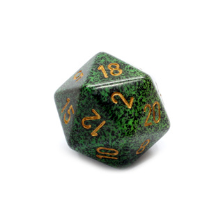 Golden Recon' Large Twenty Sided Dice