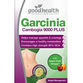 Good Health Garcinia Cambogia 9000 Plus  Acv 60caps