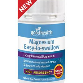 Good Health MAGNESIUM EASY TO SWALLOW 90 caps TWIN PACK