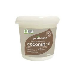 GOOD HEALTH ORGANIC EXTRA VIRGIN COCONUT OIL 1L