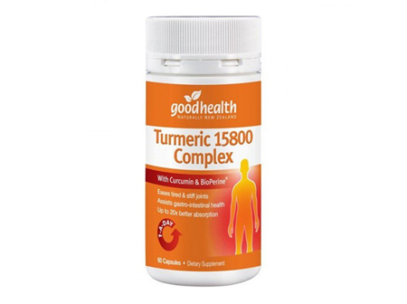 Good Health Turmeric 15800 Complex 90 caps
