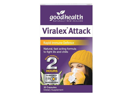 Good Health Viralex Attack 30caps