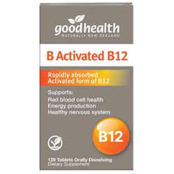 GOODHEALTH B Activated B12 120vCaps