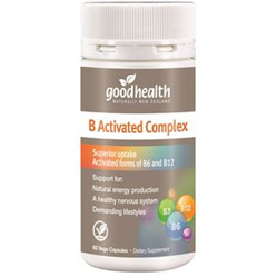 GOODHEALTH B Activated Complex 60cap