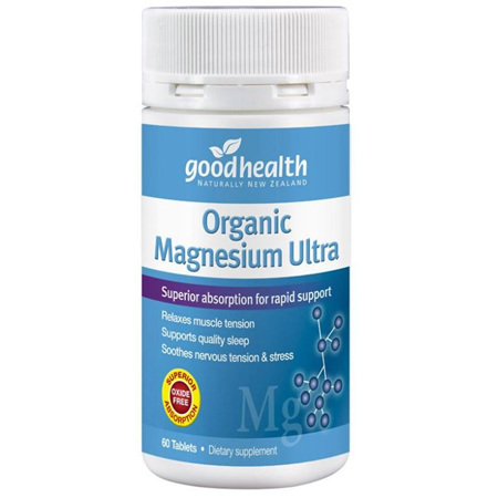 GOODHEALTH Magnesium Ultra Organic 60tabs