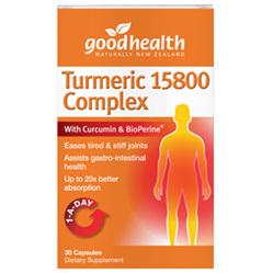 GOODHEALTH Turmeric 15800 Complex 60caps