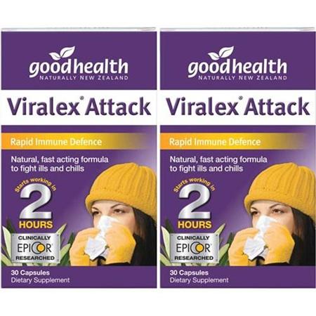 GOODHEALTH Viralex Attack 30s 2pk
