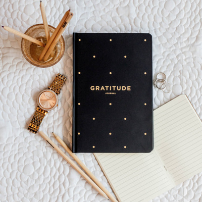 Gratitude Journal / Black