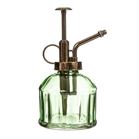 Green Botanical Glass Mister