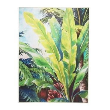 Green Tropics Canvas Print - 100x140cm