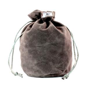 Grey Velveteen Drawstring Bag Games and HobbiesNew Zealand NZ