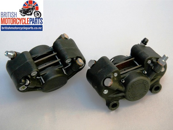 GRI-001 Grimeca Alloy Brake Caliper - BSA, Norton, Triumph - British Bike Parts