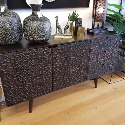 Groveland Side Board - Deep Walnut 160x85cm