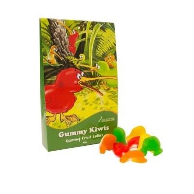 Gummy Kiwi - Gummy Fruit Lollies