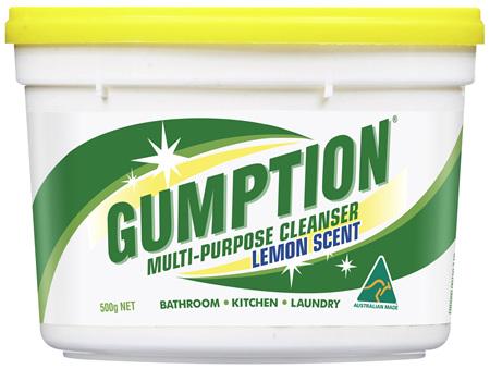 Gumption Multi-Purpose Cleaner Lemon 500g