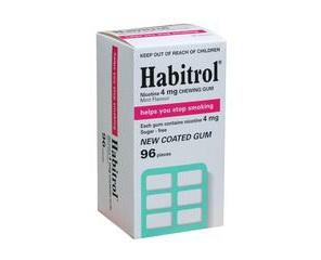 Habitrol Mint 4mg Gums 96