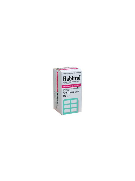 Habitrol Mint 4mg Gums 96