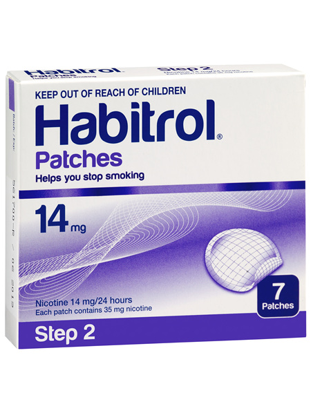 Habitrol Patch 14mg 7 Pk