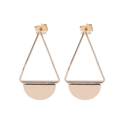 Halliwell Earrings - Rose Gold