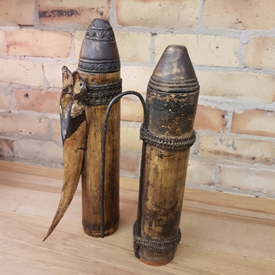 Hand Made Tribal Flask