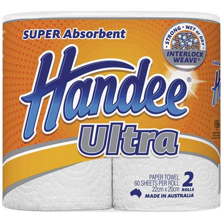 Handee Ultra Paper Towels 2 Pack