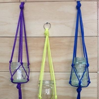 Handmade Macrame Vase Or Plant Holder