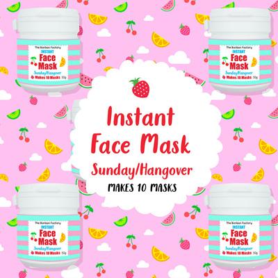 Hangover Sunday Facemask