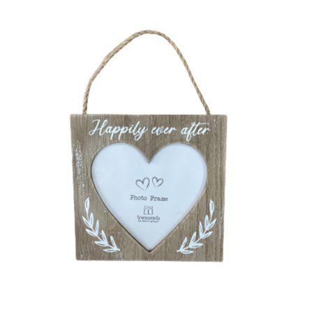 Happily Ever After Heart Frame
