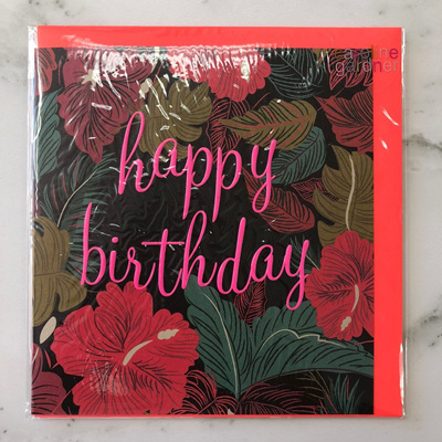Happy Birthday Dark Tropical
