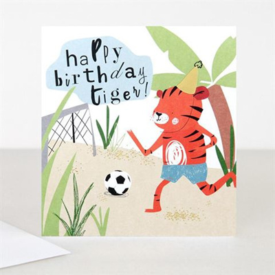 Happy Birthday Tiger Card
