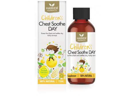 Harker Children's Chest Soothe Day 150ml