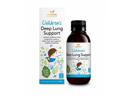 Harker Children's Deep Lung Support 150ml