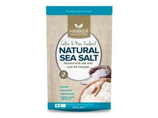 Harker Herbals Celtic & NZ Natural Sea Salt 300g