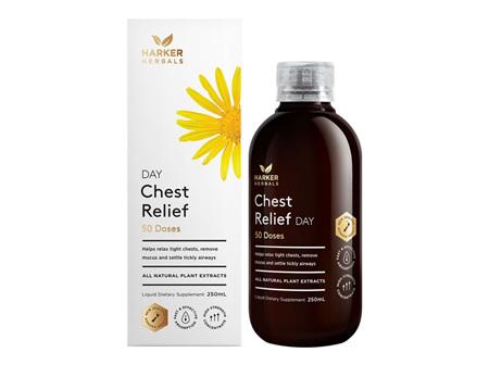 Harker Herbals Chest Relief Day 250ml