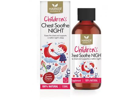 Harker Herbals Childrens Chest Soothe Night 150ml