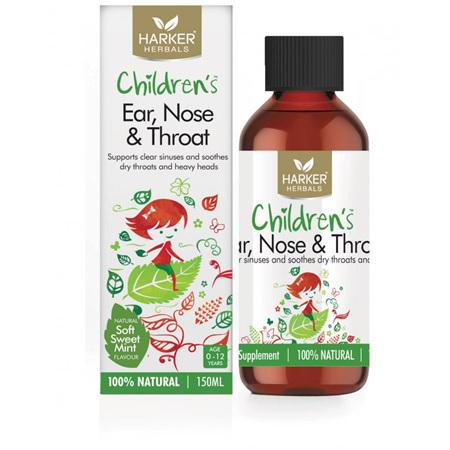 Harker Herbals Childrens Ear Nose  Throat 150ml
